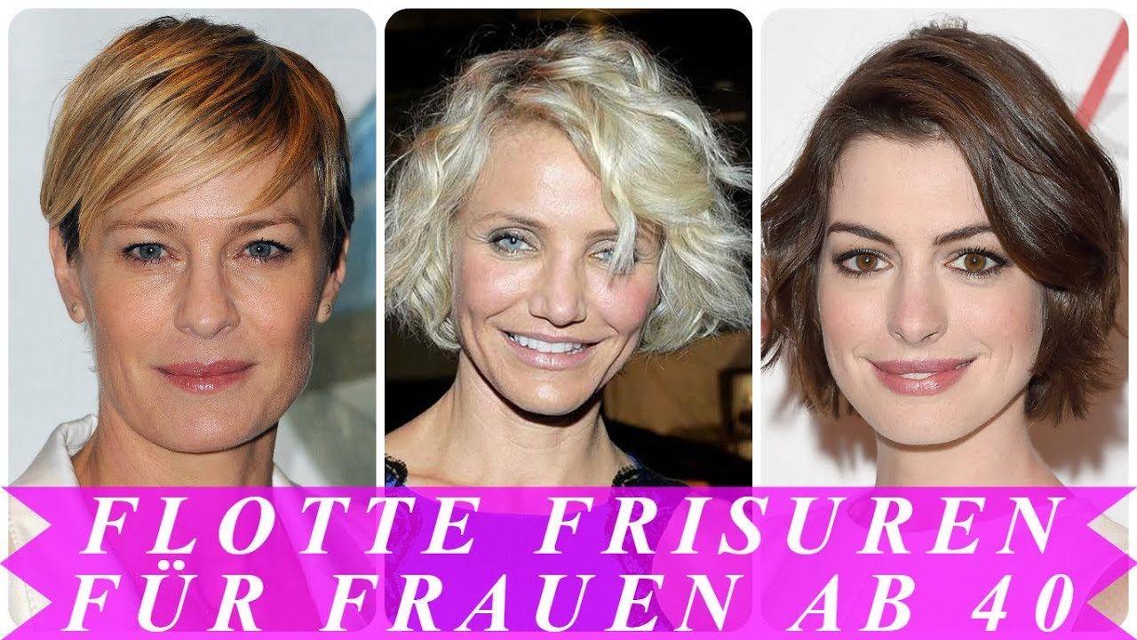 Coole Frisuren Für Die Frau Ab 40 Jahre 2018 Youtube Frisuren