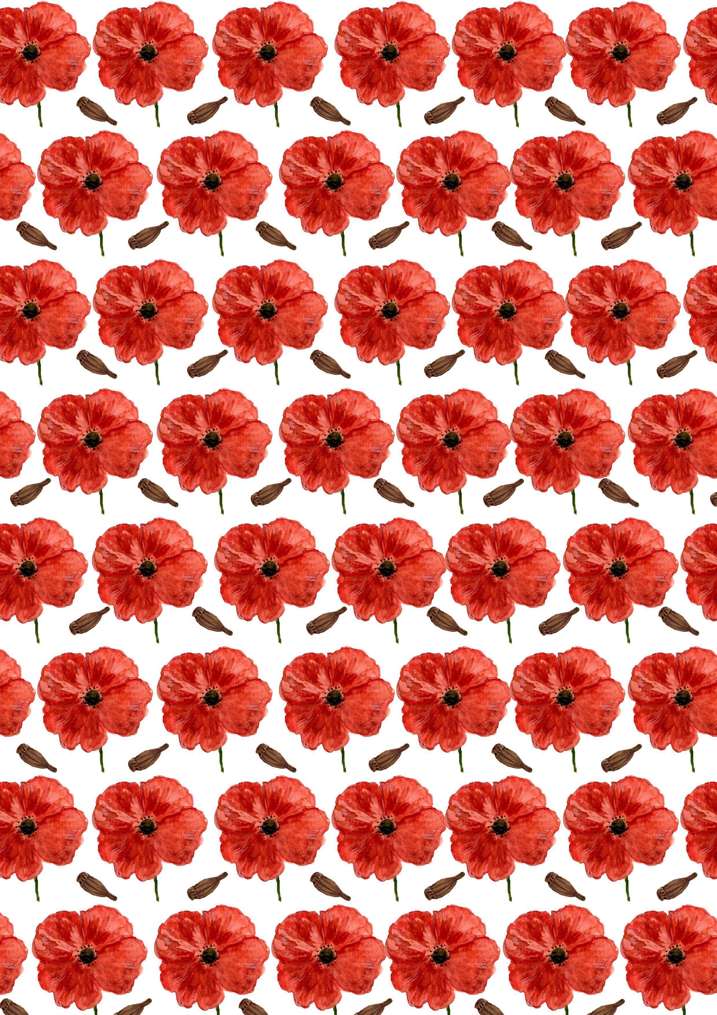 Poppy pattern | Isabelle Sykes | ISYKLE