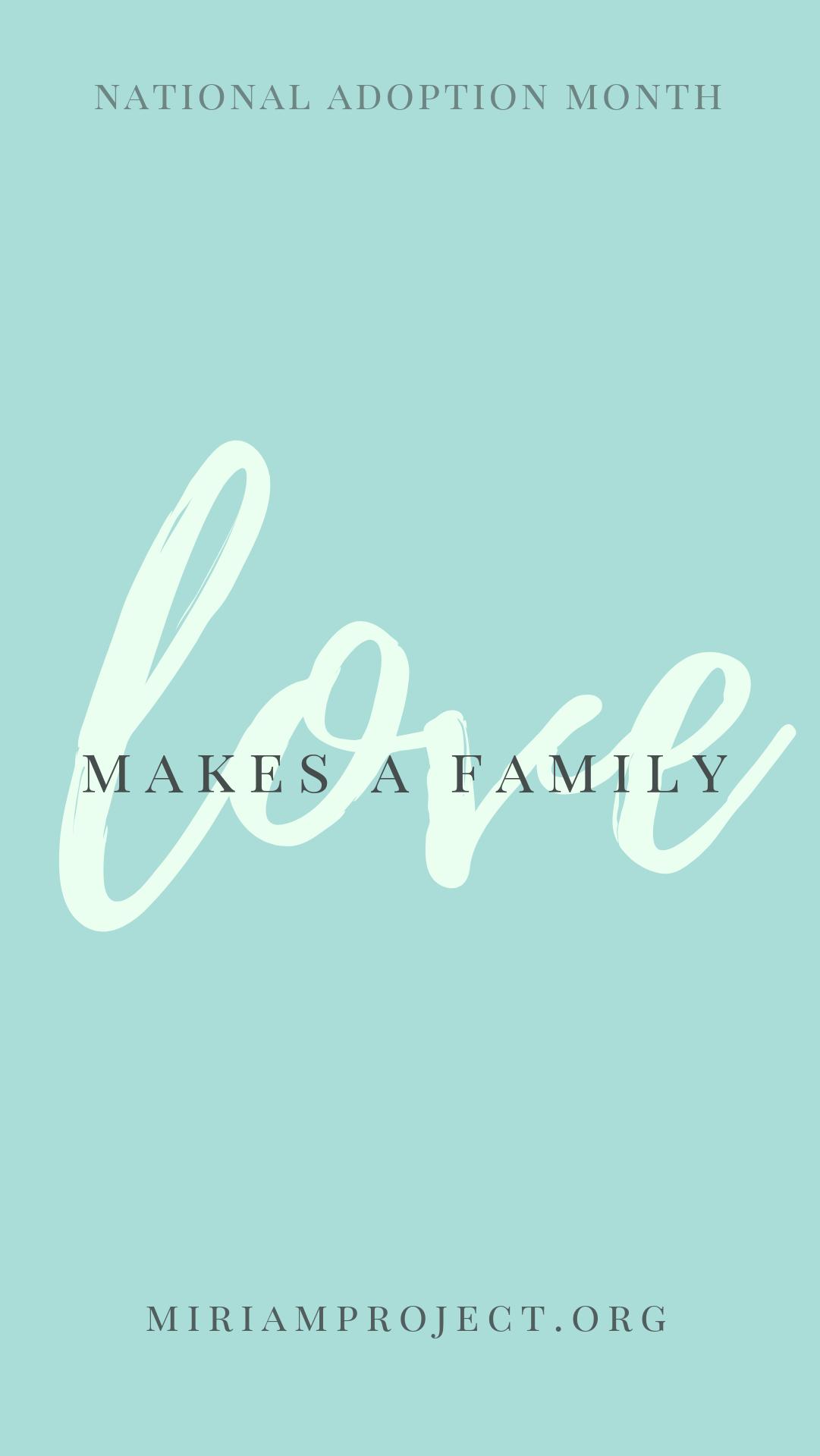 Phone Wallpaper Nationaladoptionmonth Adoption Wallpaper National Adoption Month Adoption Make A Family