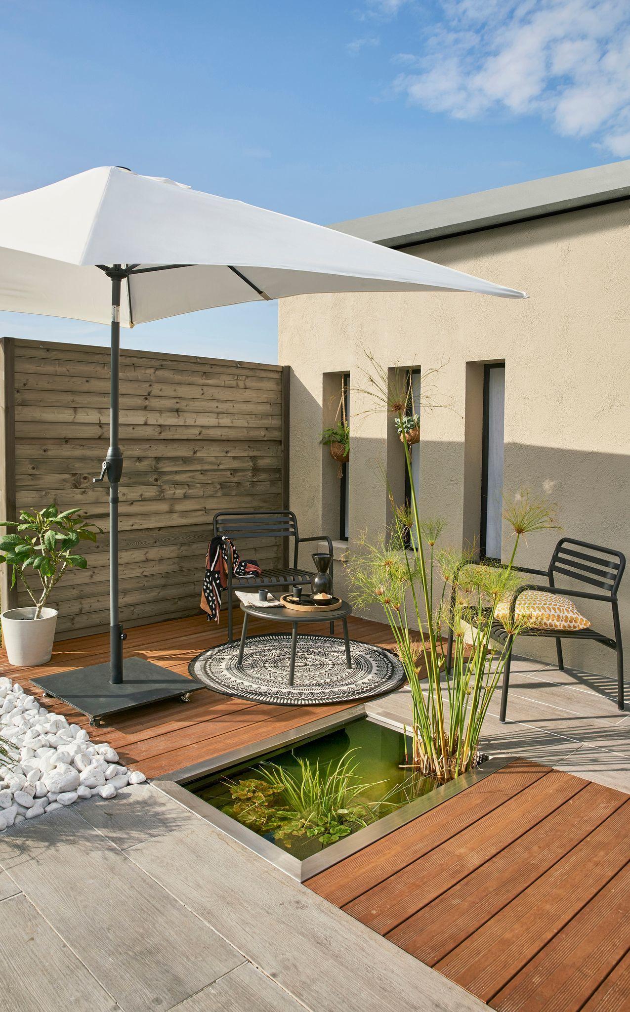 Palissade Claustra Quelle Cloture Protege Mon Jardin Des Voisins En 2020 Creation De Terrasse Claustra Idees Jardin