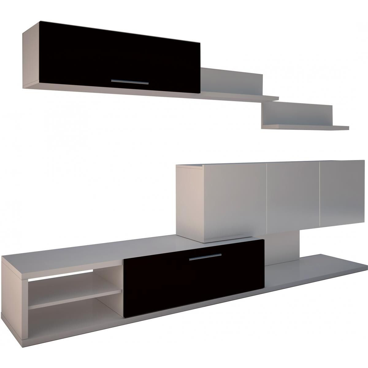 Compacto sal n roma en conforama wood art tv pinterest - Muebles salon conforama ...