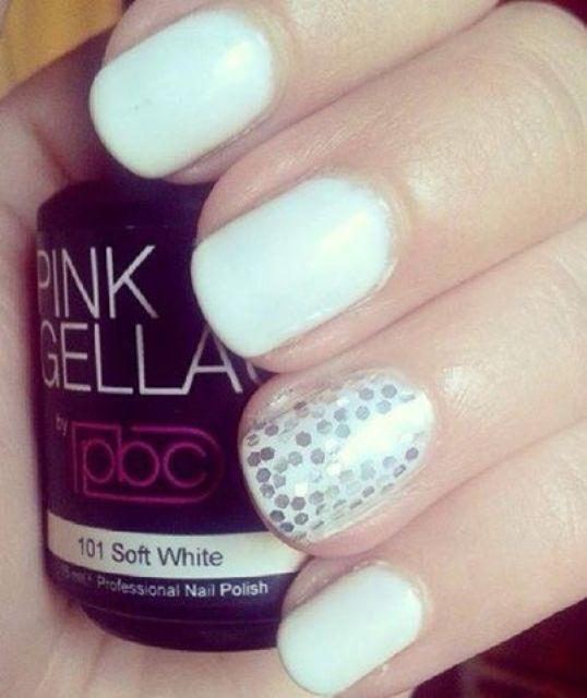 Pink Gellac 101 Soft White
