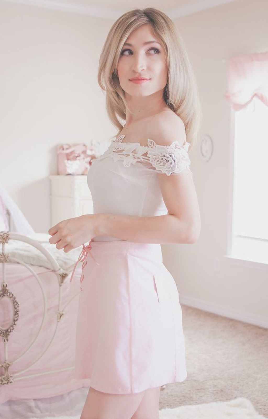 45 Charming Girly Outfit Ideas For Spring