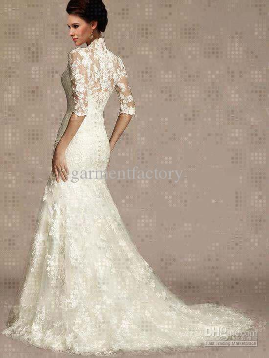 Wedding dresses: victorian lace wedding dress gown | Day Dresses ...