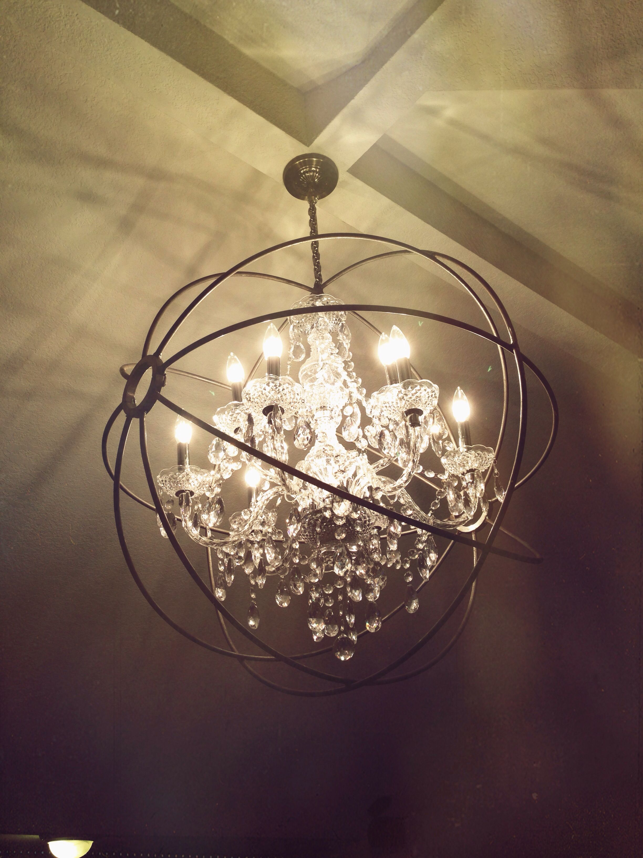 M As Orb Chandelier Dimensions 36 Details Handmade Steel