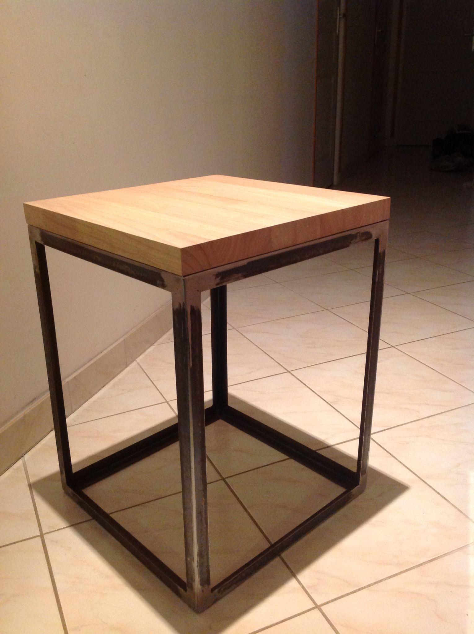 Table De Chevet Industriel table de chevet industriel | Светильники и декор ручной работы в