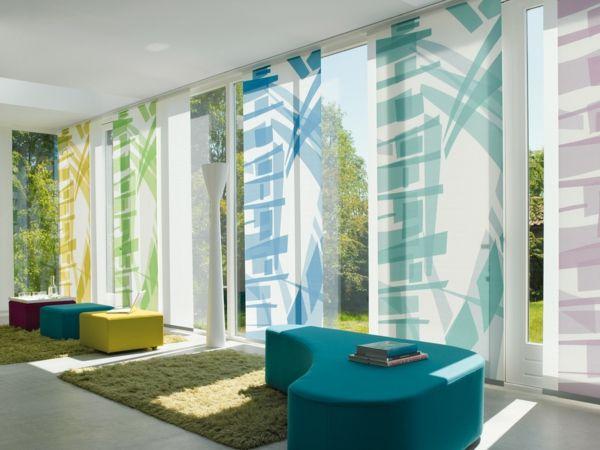 Le panneau japonais heytens dans la décoration contemporain Room