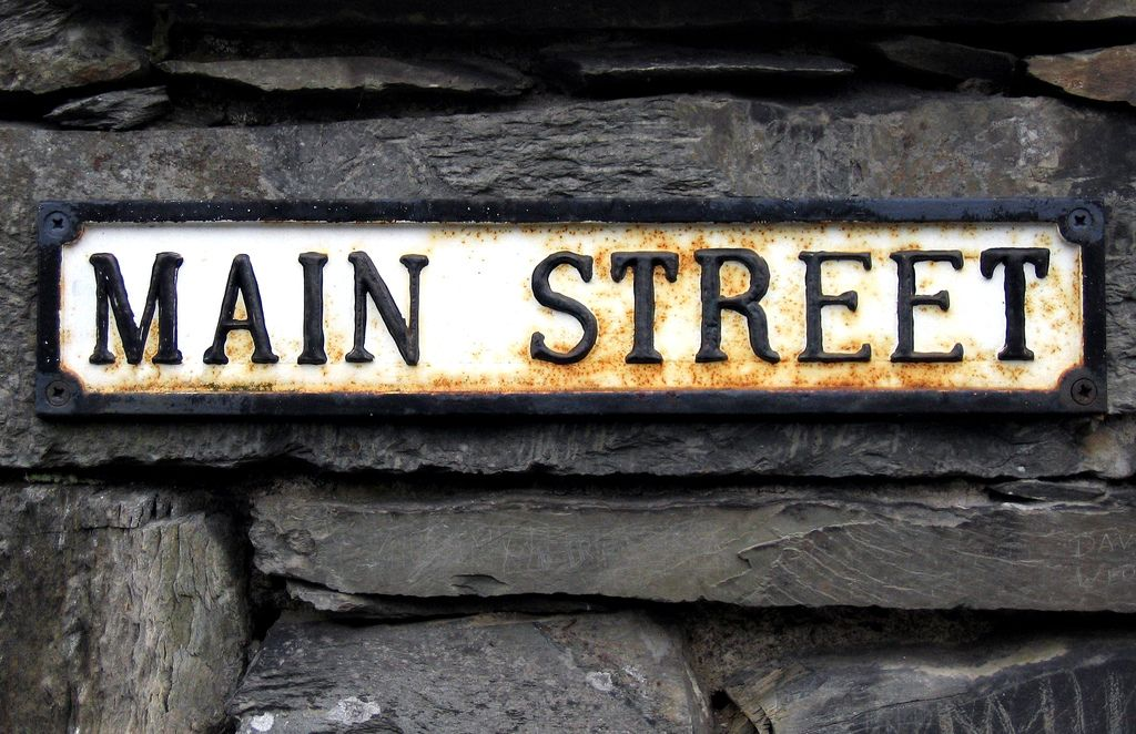 Main Street Sign Street Signs Main Street Street