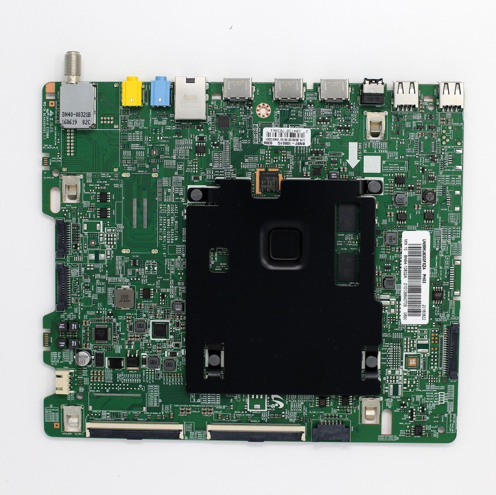 Samsung UN55KU6300FXZA Main Board BN94-10832A BN97-10651G