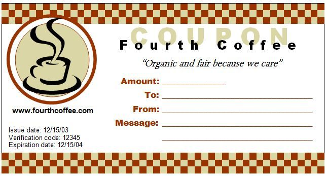 Coupon template for MS Word DOWNLOAD at http\/\/worddoxorg\/how-to - coupon sample template