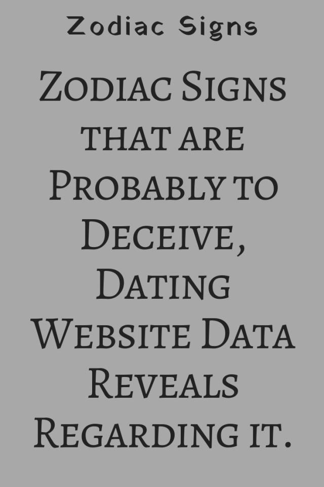 Taurus Dating-Website