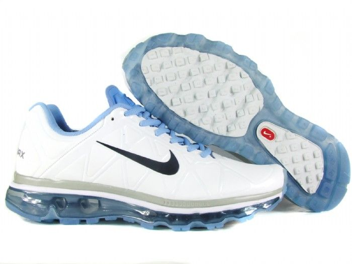 100% authentic 7daf8 289df ... danmark billige nike air max 2011 trainers kids blue white black leather