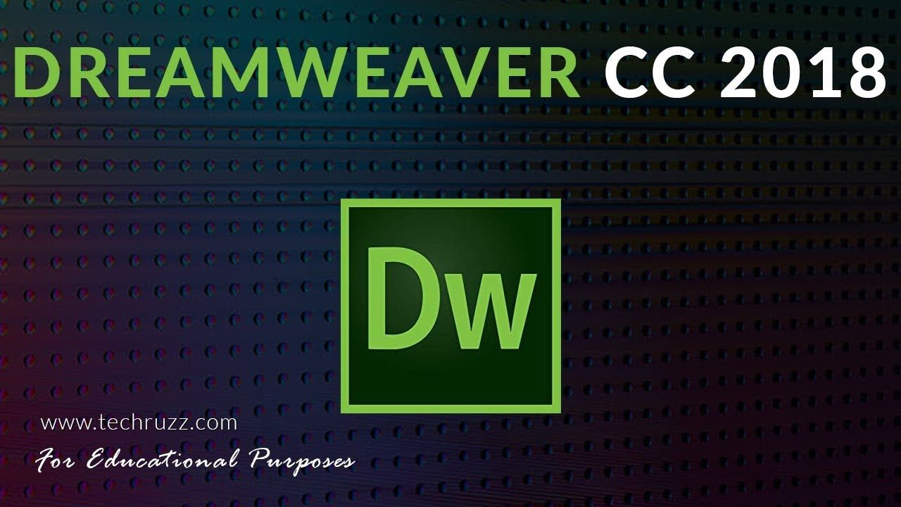 HOW TO GET ADOBE DREAMWEAVER CC 2018 FOR FREE TRIAL - [FOR BEGINNERS