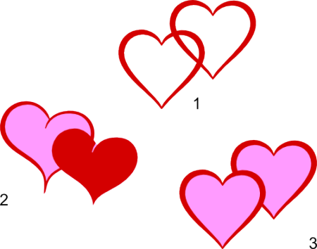 Double Heart Svg Files Svg Free Files Intertwined Hearts Svg