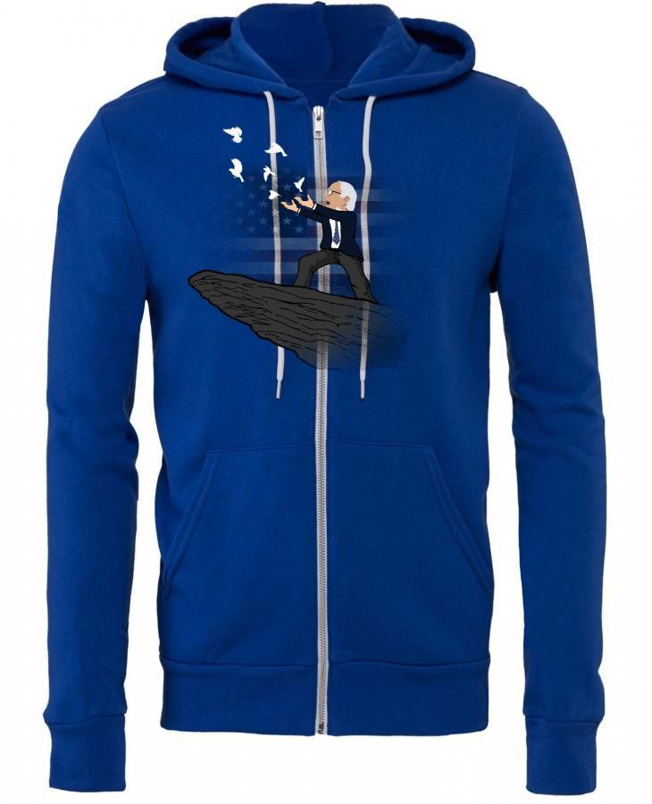 Magic Birdie Sanders Zipper Hoodie