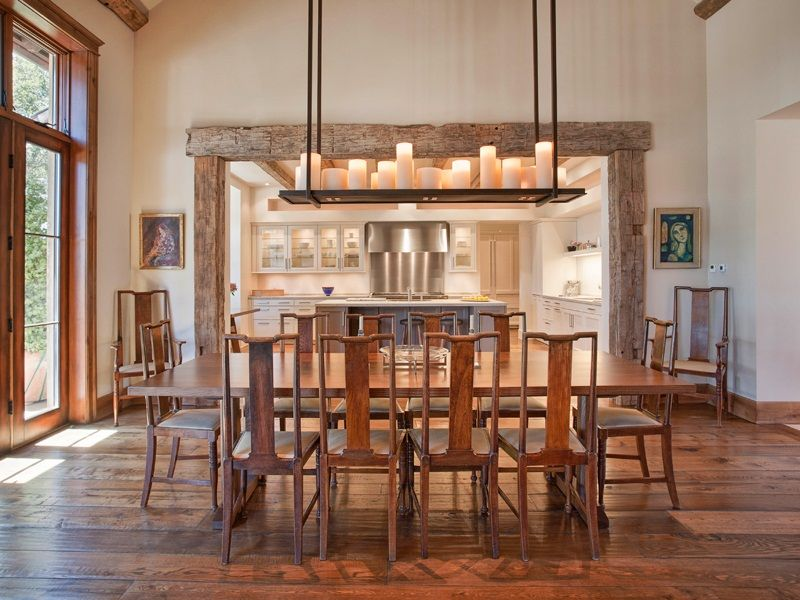 Dom V Kalifornii Farmhouse Dining Room Lighting Rustic Dining Room Lighting Modern Dining Room Lighting