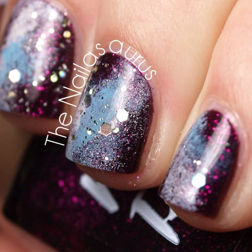 The perfect galaxy nails.