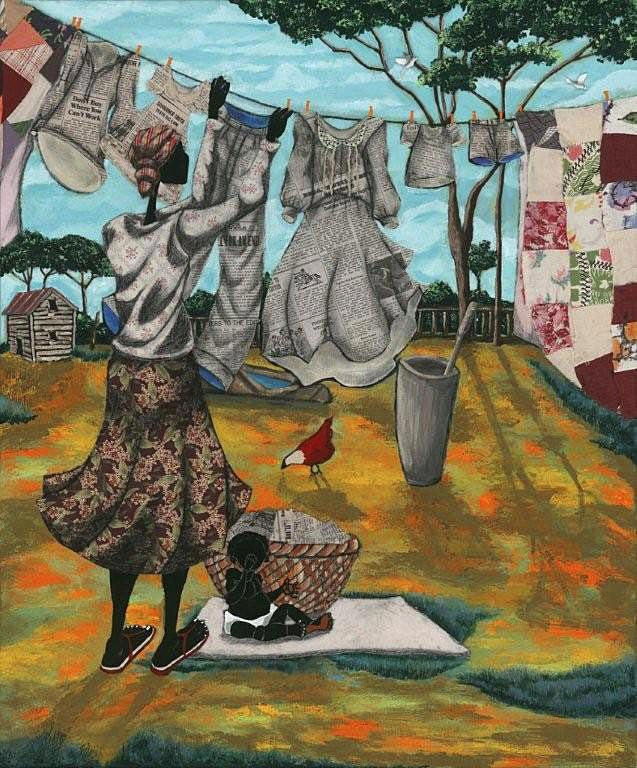 Line By Line Jpg 637 768 Art African American Art Caribbean Art