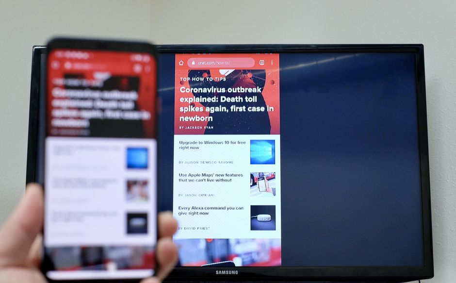 How to mirror an android device on your tv android