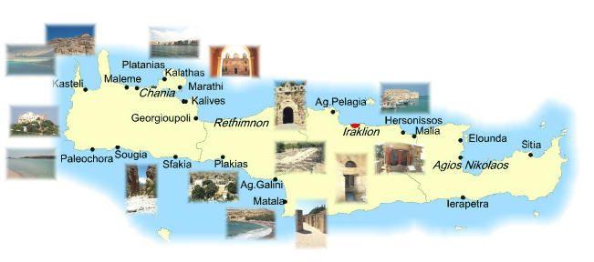 Cartina Creta.Mappa Creta Cartina Di Creta Creta Mappa Viaggi