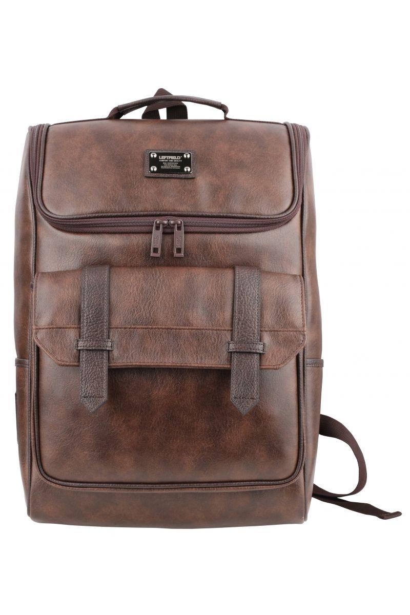 7a2ae0d576 Korean fashion shop backpacks for men. Vintage washed faux leather laptop  backpacks