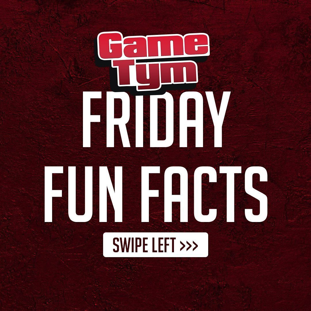Friday Fun Facts!!!
