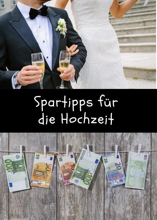 Spartipps für die Hochzeit: Es gibt verschiedene Möglichkeiten, bei einer Hochzeit zu sparen. Hier eine kleine Übersicht über verschiedene Spartipps!