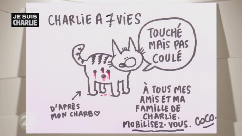 """Coco dans #28min : """"Il ne faut pas céder."""" #CharlieHebdo"""