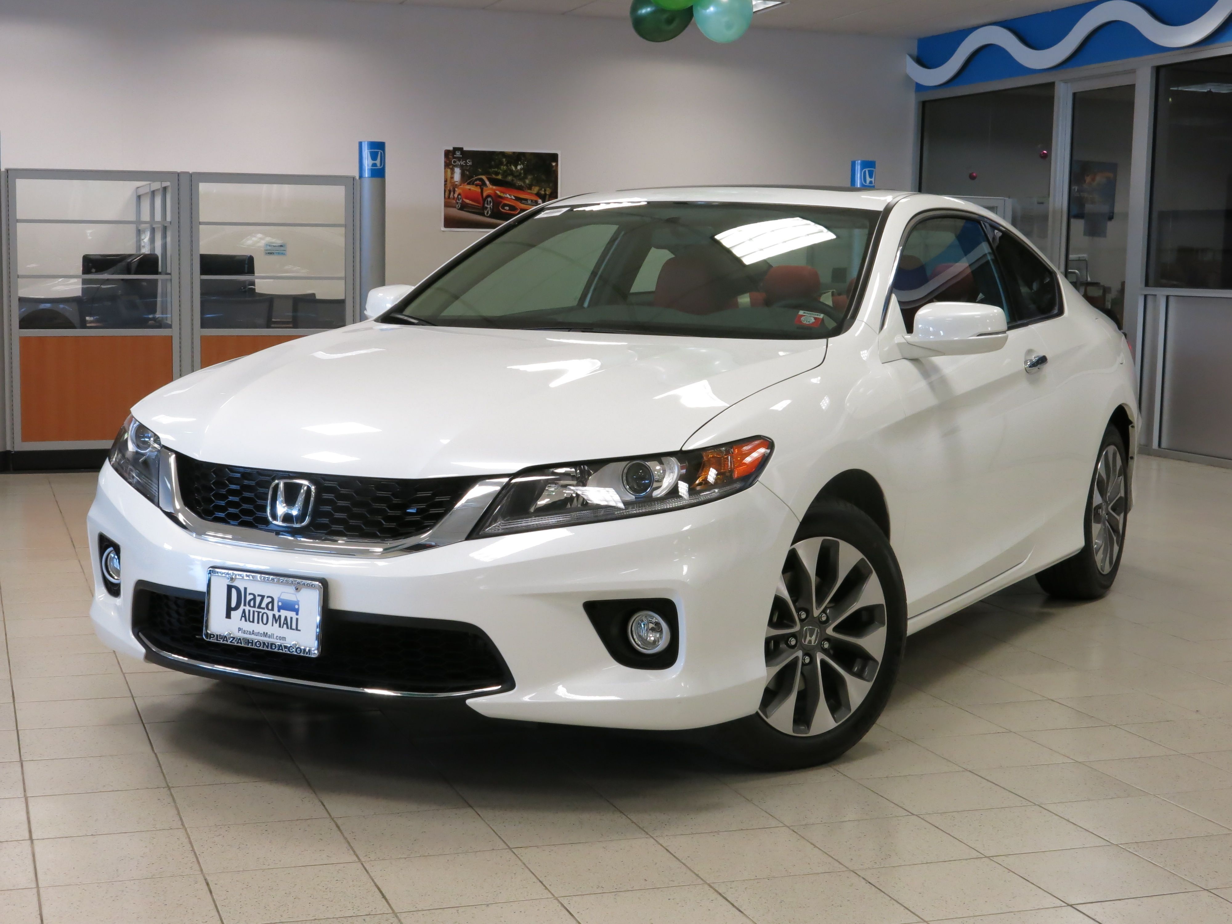 This white honda accord coupe is such a stunner it s custom interior seats makes it