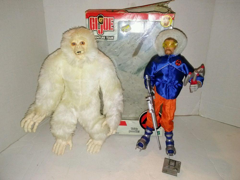 Search for the Yeti GI Joe Adventure Team Hasbro 2002 With