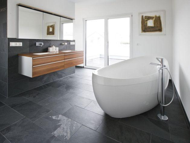 Gut Schiefer Fliesen Bad As Modernes Badezimmer Dekor Ideen Mit Der Wahl Gemäß  Den Für Die Größe