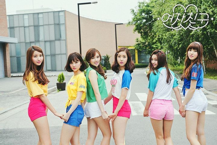 GFRIEND Concept Photos - LOL (Laughing Out Loud)