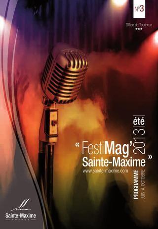 Programme d'animations à Sainte-Maxime - Festimag' (Juin - Octobre 2013)