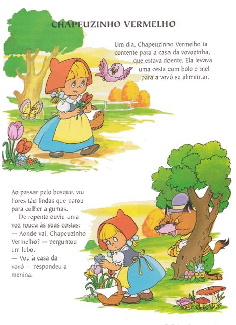 LITTLE RED RIDING HOOD <<>> PORTUGUESE <>  Chapeuzinbo Vermelho The wardrobe of Carol and Leticia <<>>  PORTUGUESE  <> O guardarroupa de Carol e Leticia 7 of 10