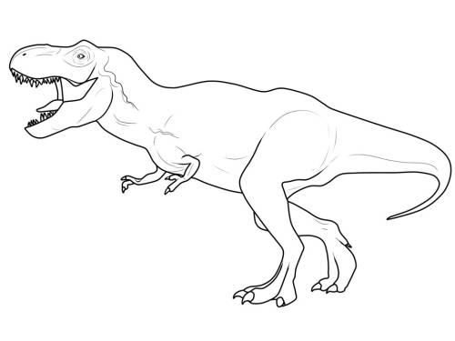 T Rex Malvorlagen Kostenlose Malvorlage Dinosaurier Und Steinzeit Dinosaurier Herunterladen Dinosaur Coloring Pages Dog Coloring Page Dinosaur Coloring