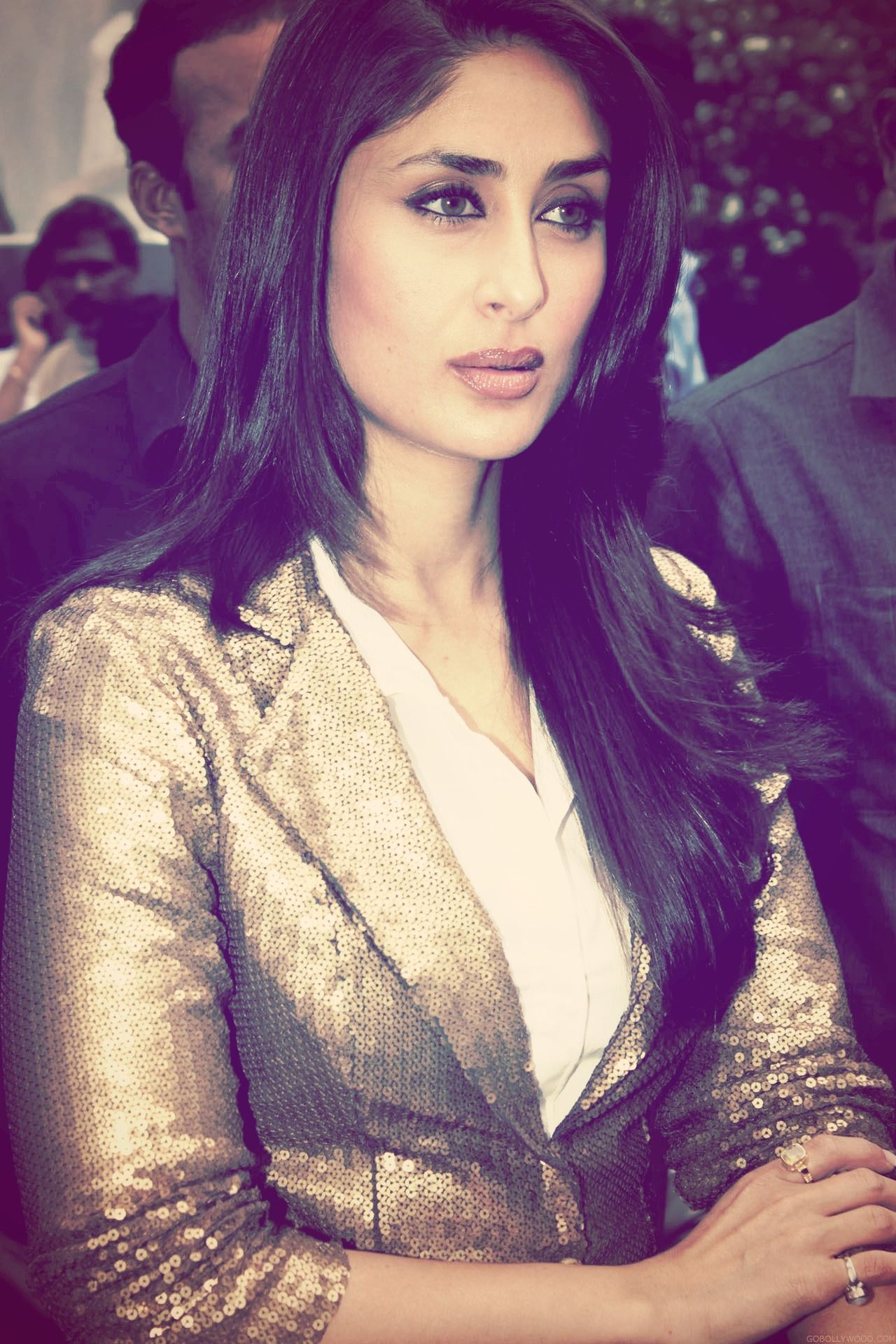 Kareena wearing sequins jacket