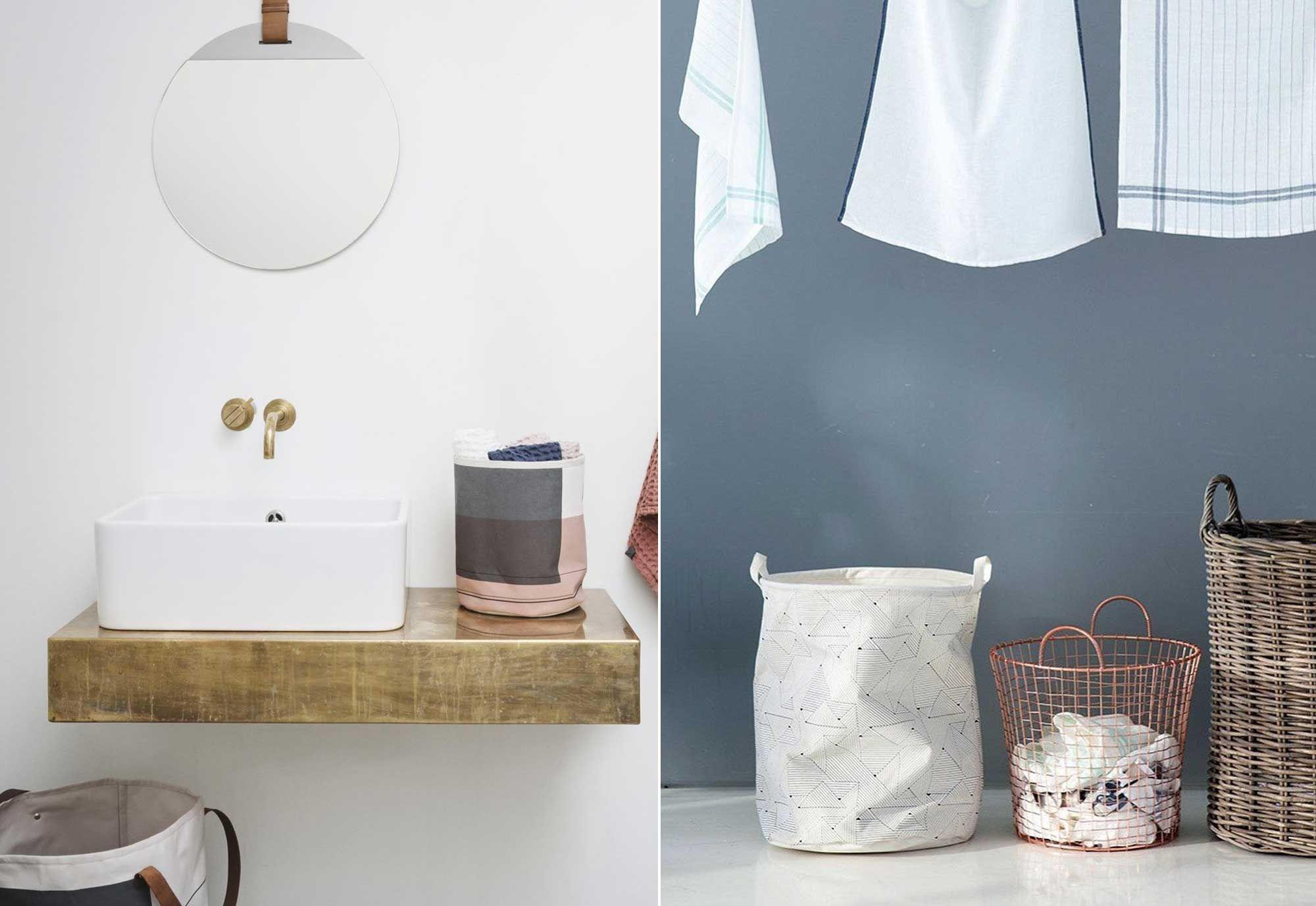 Mooie Wastafels Badkamer : Wasmand wastafel handdoeken musthaves voor een mooie