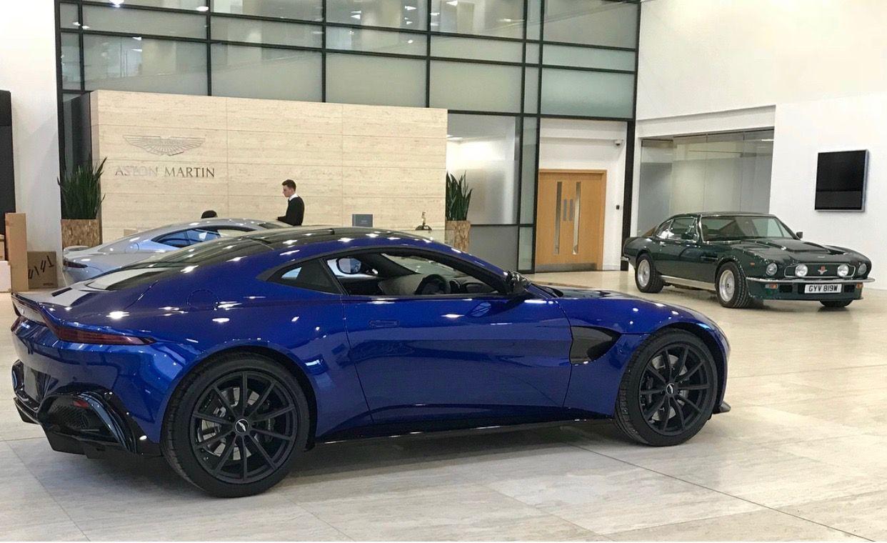 Aston Martin Vantage Painted In Zaffre Blue Photo Taken By Hrowenastonmartin On Instagram Aston Martin Best Luxury Cars Luxury Cars