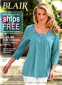 Designer Clothes Catalogs | Blair Clothing From The Blair Catalog Bargain Clothes Shopping