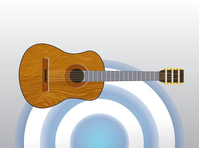 Classical Acoustic Guitar Vector Free Classical Acoustic Guitar Guitar Vector Guitar