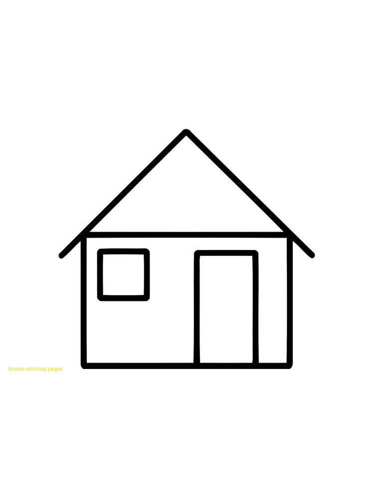 House Coloring Pages Free Below Is A Collection Of House Coloring Page Which You Can Download For Free House Colors House Colouring Pages Cool Coloring Pages