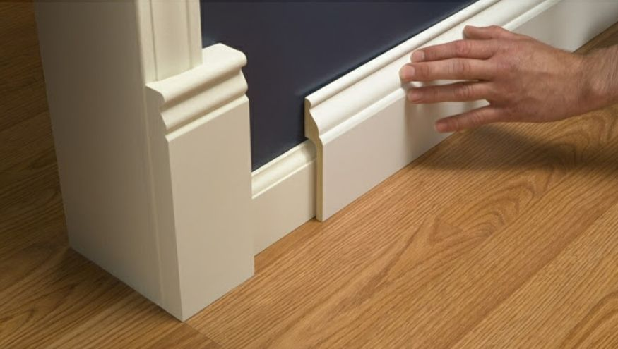 Base Shoe Molding How to Install Baseboard Molding Carpentry