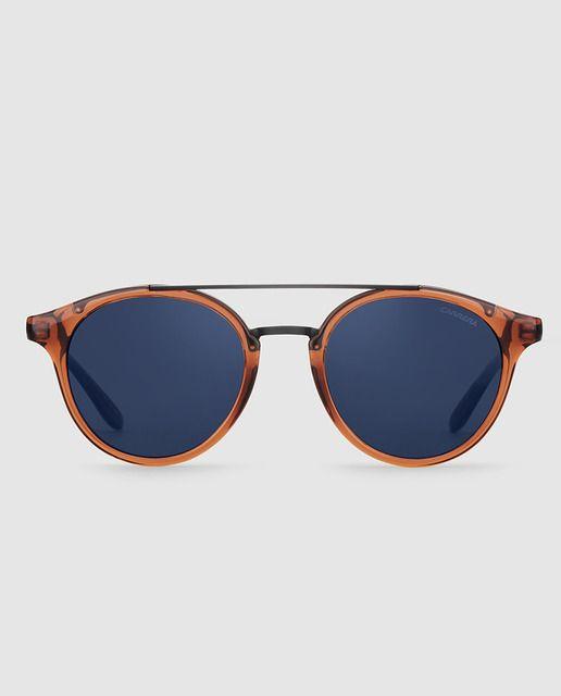 885debfe31 Gafas de sol redondas de pasta marrones | gafas en 2019 | Gafas de ...