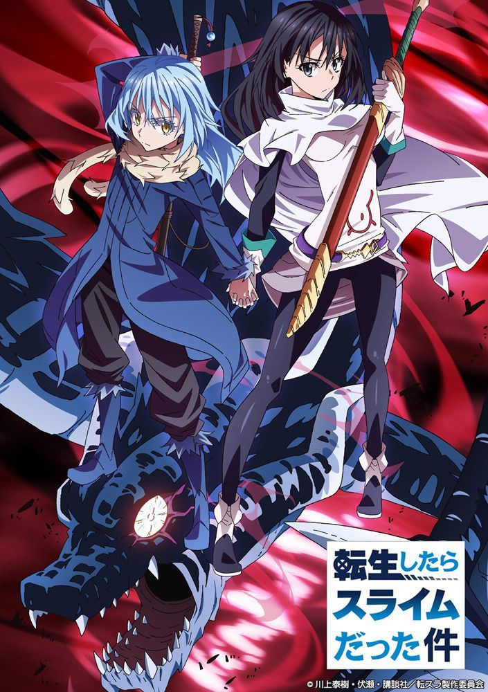 That Time I Got Reincarnated As A Slime Releases Second Key Visual And Additional Cast In 2020 Met Afbeeldingen Anime Japans