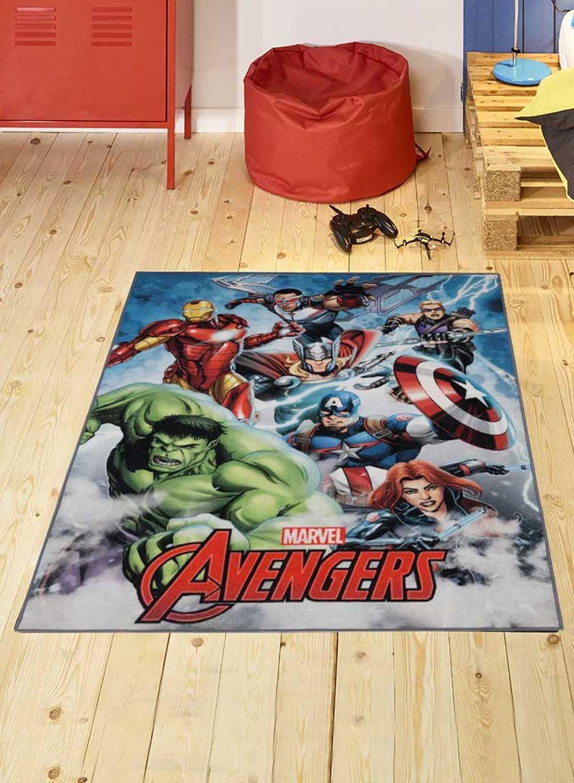 avengers 01 marvel tapis chambre