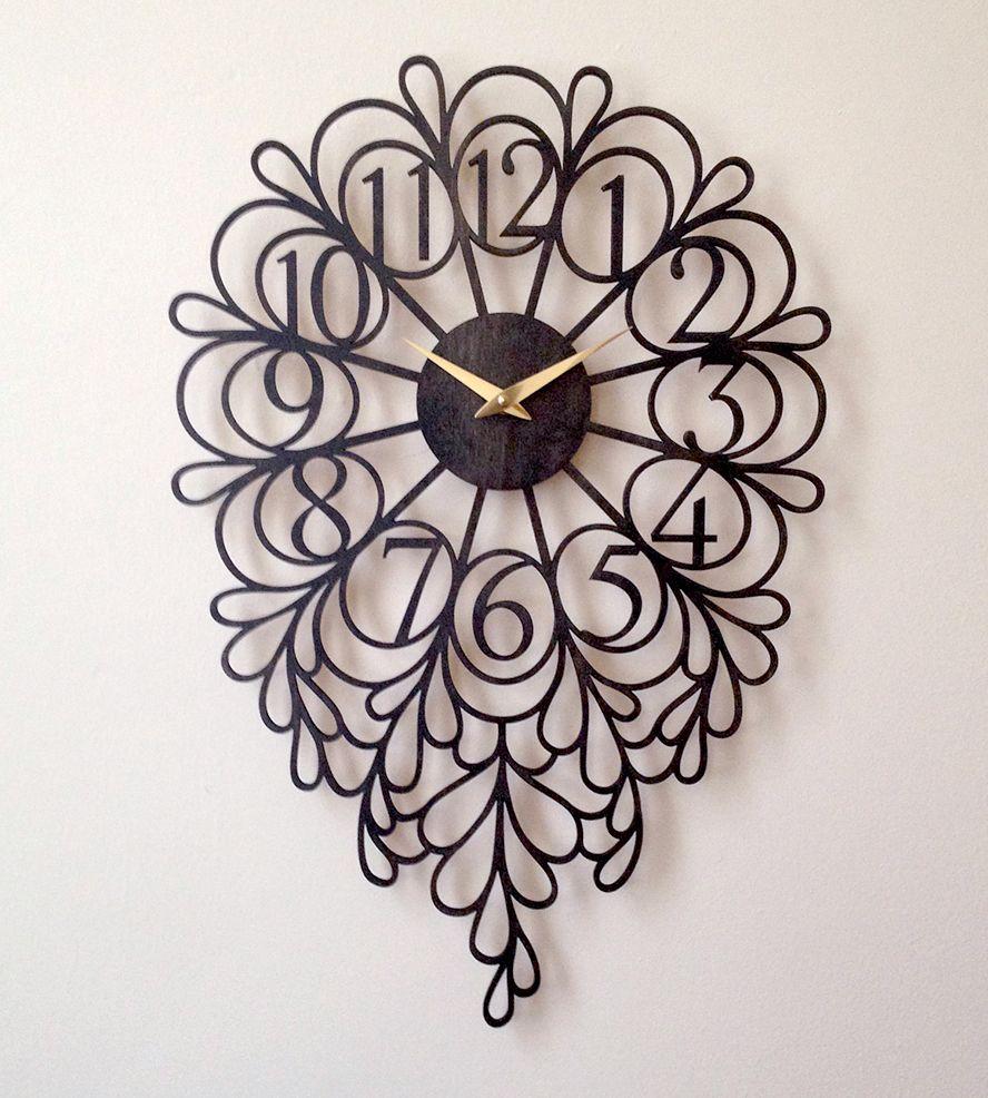 Pin By Gagan Sampla On Clocks: Darling Lite Laser Cut Wood Clock