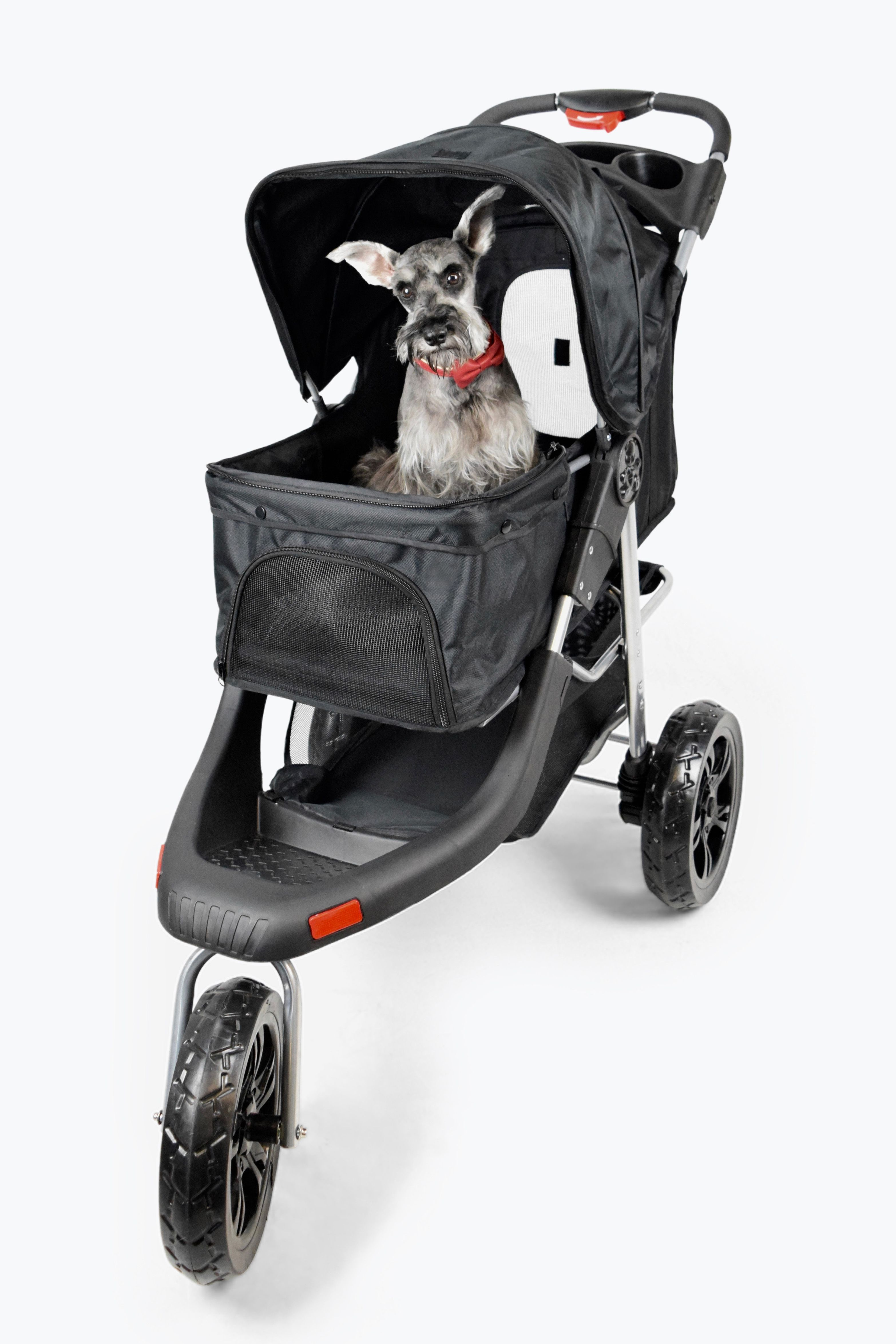 The Martha Stewart Pet Stroller is a great way to help