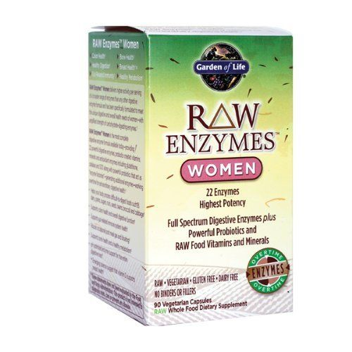 Garden Of Life Raw Enzymes Women 90 Vegetarian Capsules By Garden Of Life Http Www Amazon Com Dp B004h2yask Digestive Supplements Probiotics Vitamin Shoppe