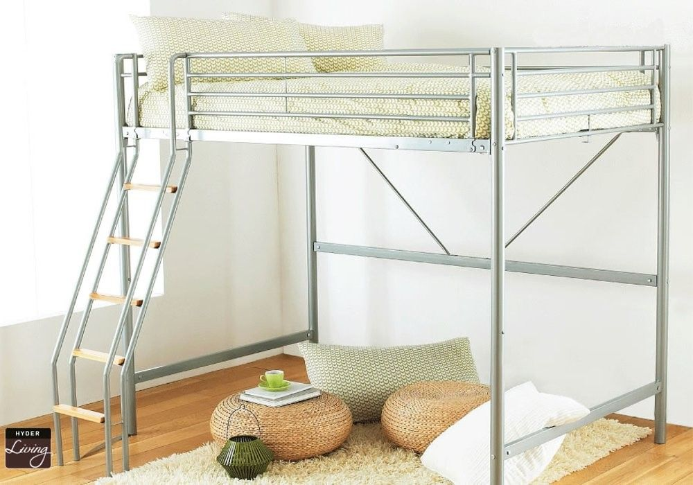 Space saving size loft beds for adults furnitures Adult loft bed