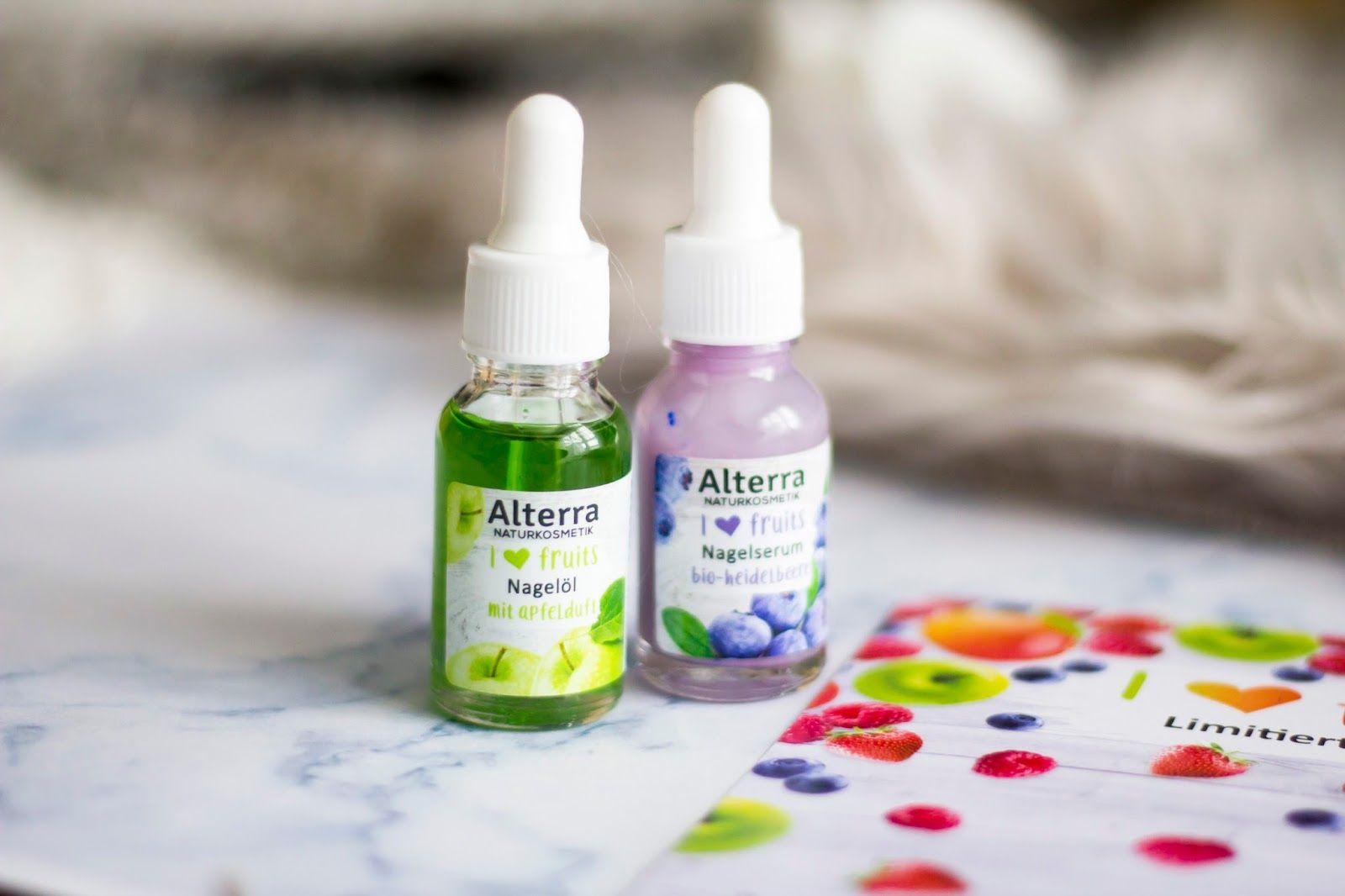 Alterra I Love Fruits Handcreme Nagelcreme Lippenbalsam